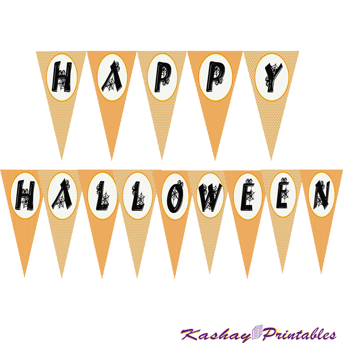 Happy Halloween Banner | Kashay.co.uk
