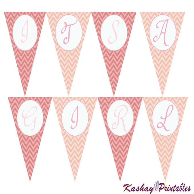 Princess Baby Shower Banner | Kashay.co.uk