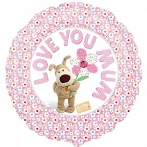 Boofle Love You Mum Foil Balloon | Kashay.co.uk